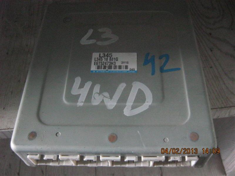 Блок управления efi Mazda Atenza GG3S L3-VE ст.203000042