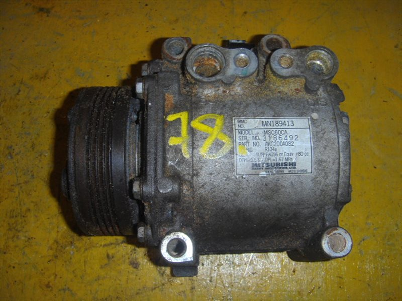 Компрессор кондиционера Mitsubishi Pajero Mini H56A 3G83 ст.212000078