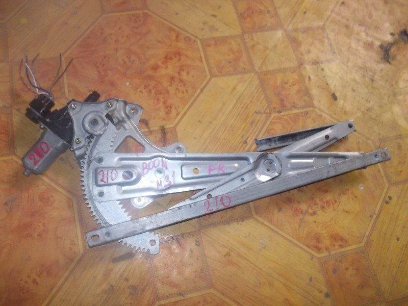 Стеклоподъемник Daihatsu Boon M301S передний правый ст.245000210