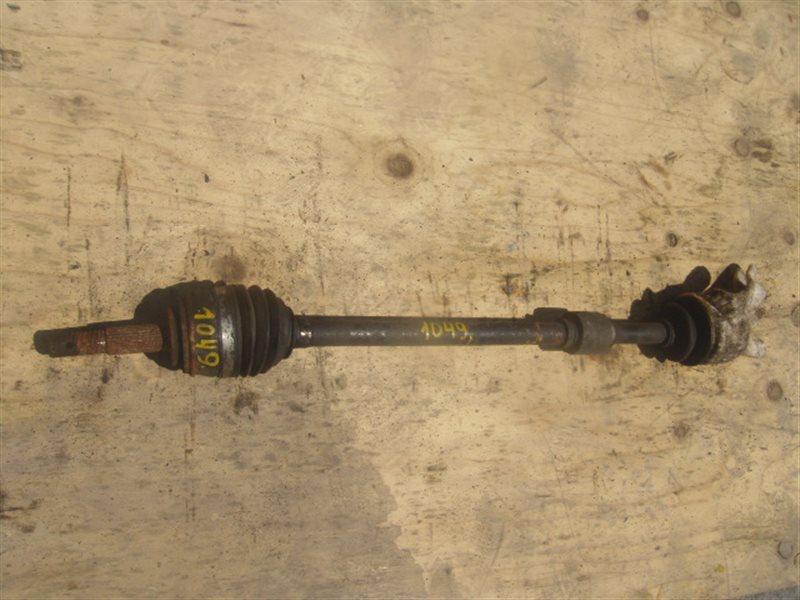 Привод Nissan Ad 11 QG15 передний правый ст.254001049