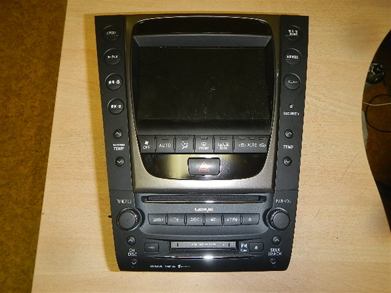 Магнитофон Lexus Gs350 UZS190 ст.259000122