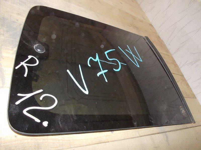 Стекло собачника Mitsubishi Pajero V75W заднее правое ст.266000012