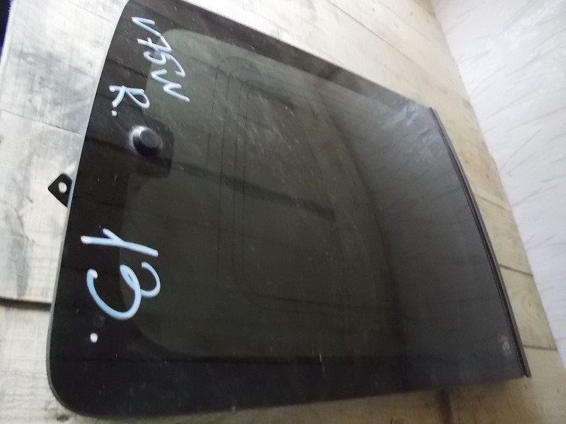 Стекло собачника Mitsubishi Pajero V78W заднее правое ст.266000013