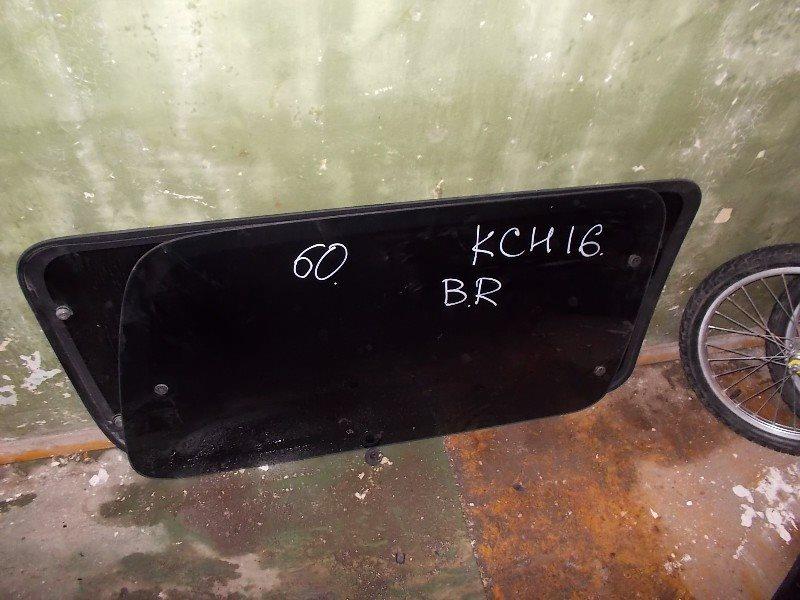 Стекло собачника Toyota Hiace Granvia KCH16W заднее правое ст.266000060