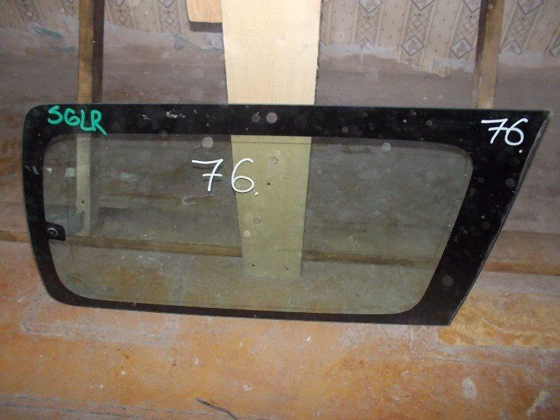 Стекло собачника Mazda Bongo Friendee SGLR заднее правое ст.266000076