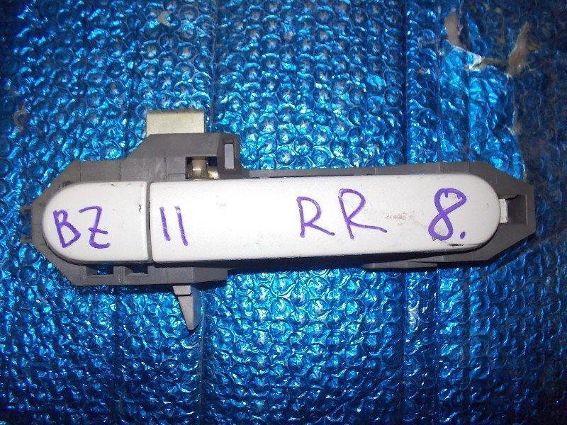Ручка двери внешняя Nissan Cube BZ11 задняя правая ст.273000008