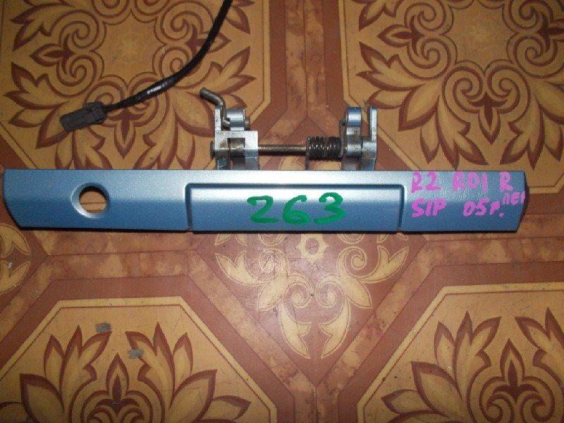 Ручка двери внешняя Subaru R2 RC1 передняя правая ст.273000263