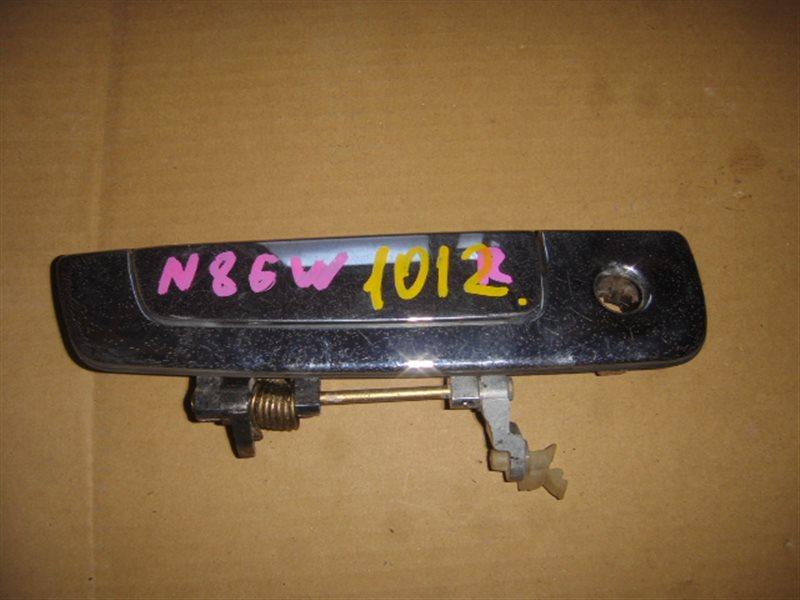 Ручка двери внешняя Mitsubishi Chariot Grandis N84W передняя правая ст.273001012