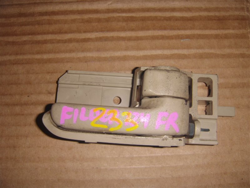 Ручка двери внутренняя Toyota Fielder NZE124 передняя правая ст.320000233
