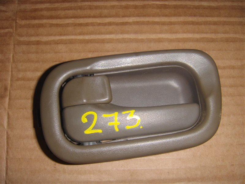Ручка двери внутренняя Nissan Sunny FB13 передняя левая ст.320000273