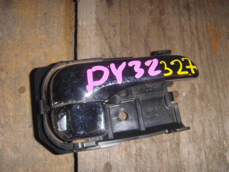 Ручка двери внутренняя Nissan Gloria PY32 передняя правая ст.320000327