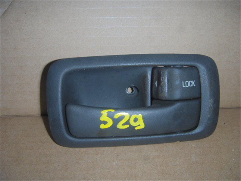 Ручка двери внутренняя Toyota Carina Ed ST182 передняя правая ст.320000529