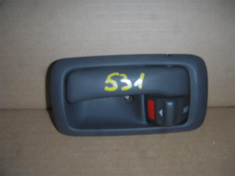 Ручка двери внутренняя Toyota Carina Ed ST182 передняя левая ст.320000531