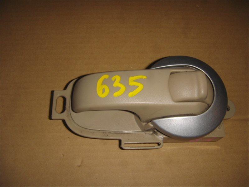 Ручка двери внутренняя Nissan Tiida NC11 передняя правая ст.320000635