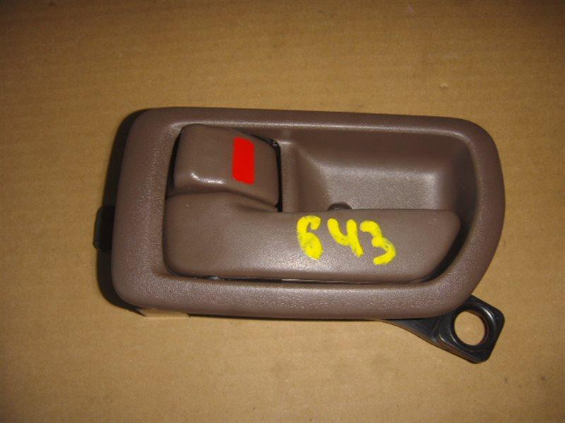 Ручка двери внутренняя Toyota Camry SV40 задняя левая ст.320000643