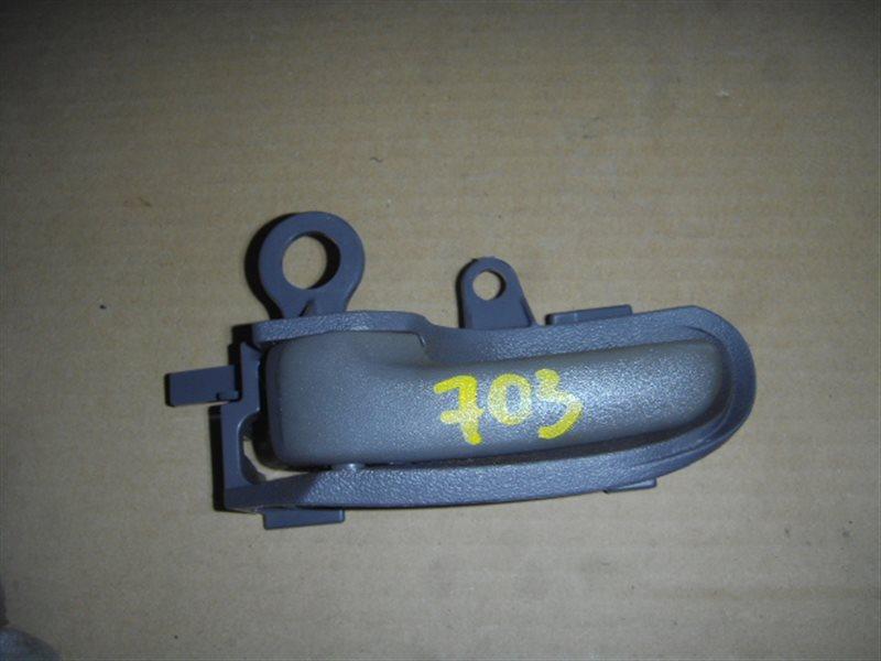 Ручка двери внутренняя Toyota Platz NCP12 задняя левая ст.320000703