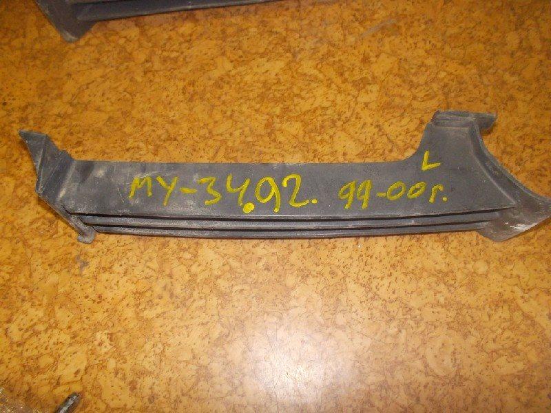 Заглушка бампера Nissan Gloria MY34 2000 левая ст.322000092