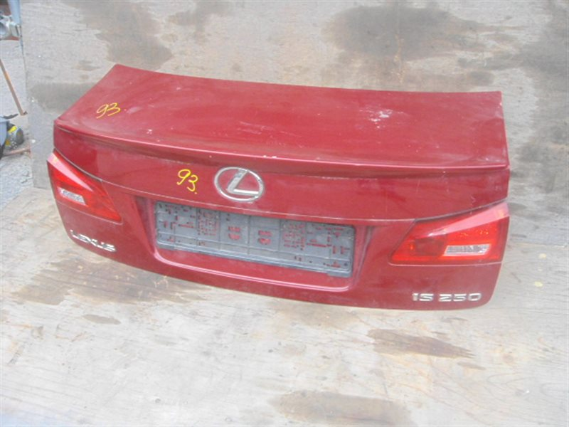 Крышка багажника Lexus Is250 GSE20 задняя ст.401000093