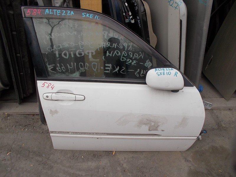 Дверь Toyota Altezza SXE10 передняя правая ст.402000584