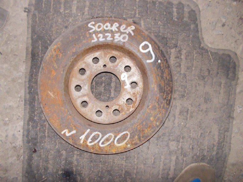 Тормозной диск Toyota Soarer JZZ30 1JZ-GE передний правый ст.406000009