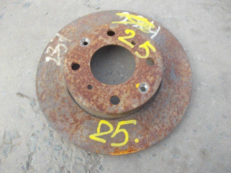 Тормозной диск Honda Logo GA3 передний левый ст.406000025