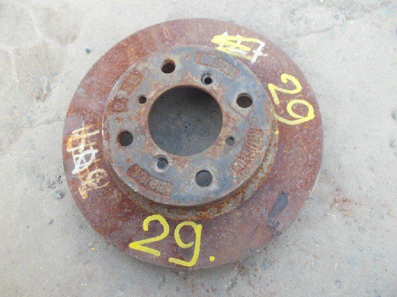 Тормозной диск Suzuki Cultus GC21S передний левый ст.406000029