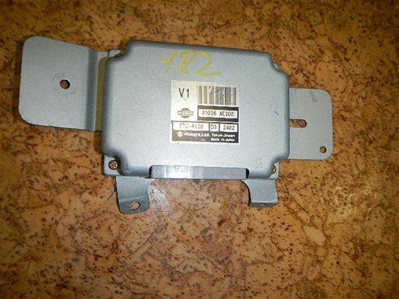 Электронный блок Nissan Presage HU30 VQ30 ст.508000182