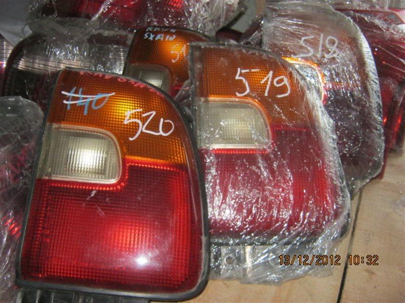 Стоп-сигнал Toyota Rav4 SXA11W задний правый ст.801000518