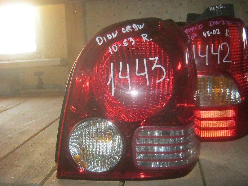 Стоп-сигнал Mitsubishi Dion CR6W задний правый ст.801001443