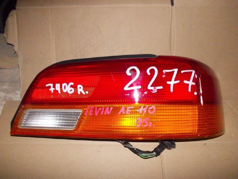 Стоп-сигнал Toyota Levin AE110 задний правый ст.801002277