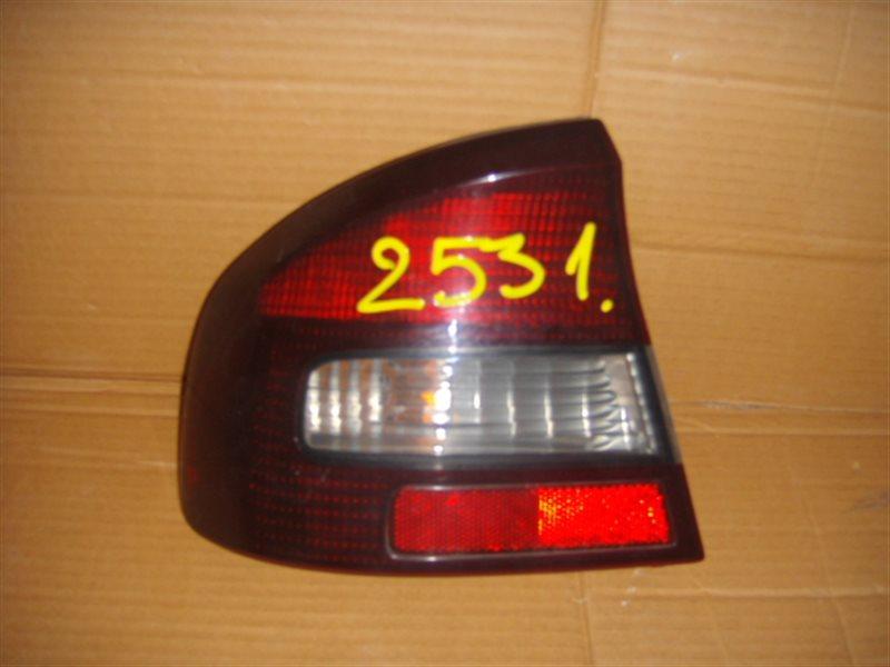 Стоп-сигнал Subaru Legacy B4 BE5 задний левый ст.801002531