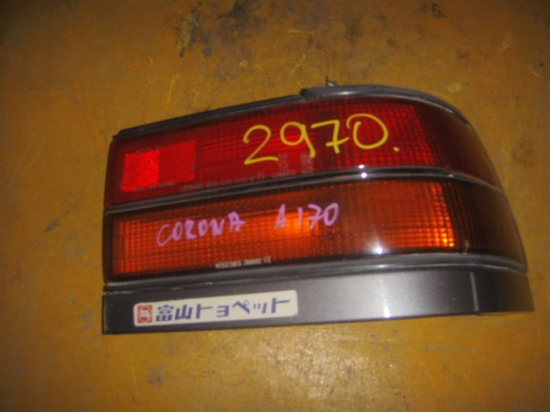 Стоп-сигнал Toyota Corona AT170 задний правый ст.801002970