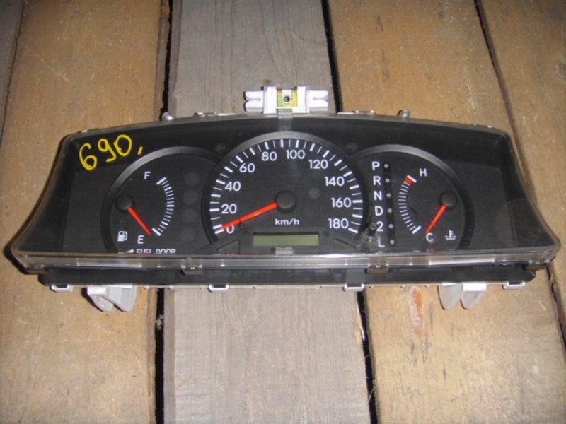 Панель приборов Toyota Spacio NZE121 ст.804000690