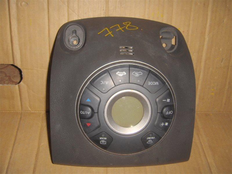 Блок управления климат-контролем Nissan Cube Z12 ст.806000778