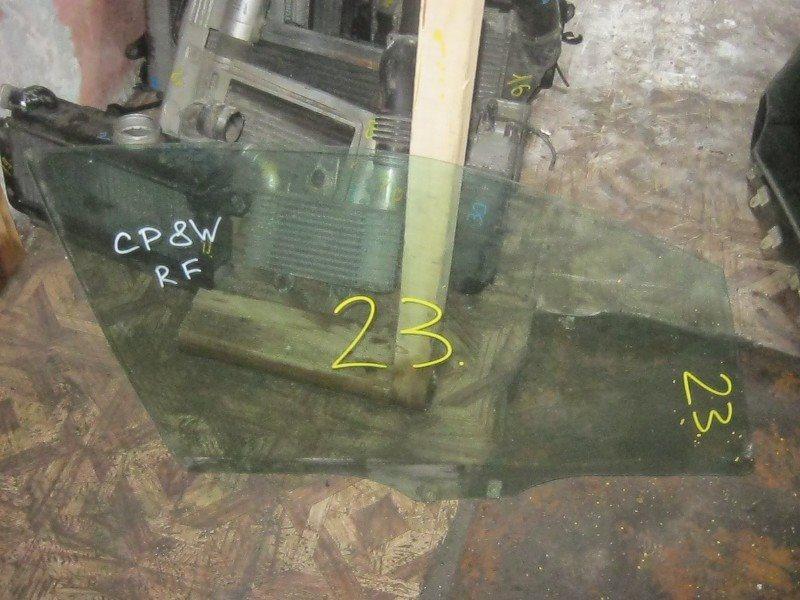 Стекло двери Mazda Premacy CP8W переднее правое ст.863000023
