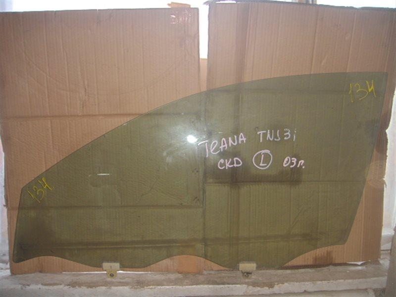 Стекло двери Nissan Teana 31 переднее левое ст.863000134