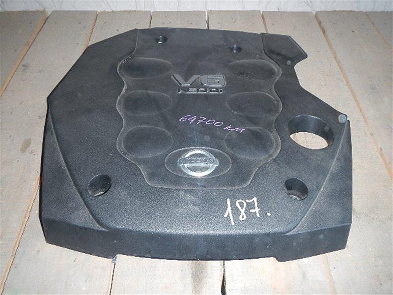 Пластиковая крышка на двс Nissan Gloria MY34 VQ25 ст.864000187