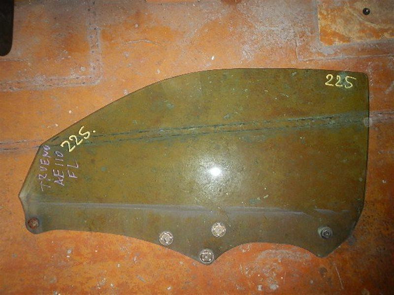Стекло двери Toyota Trueno AE111 левое ст.875000225