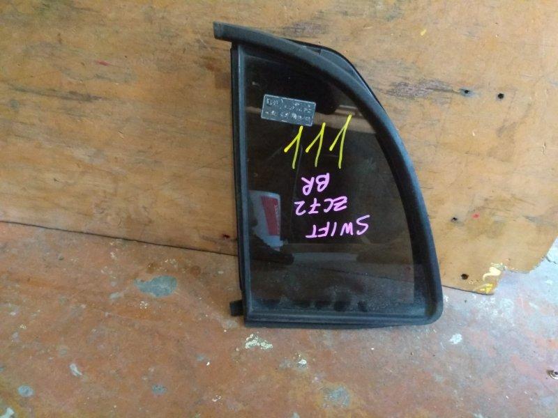 Стекло собачника Suzuki Swift ZC72 K12B заднее правое