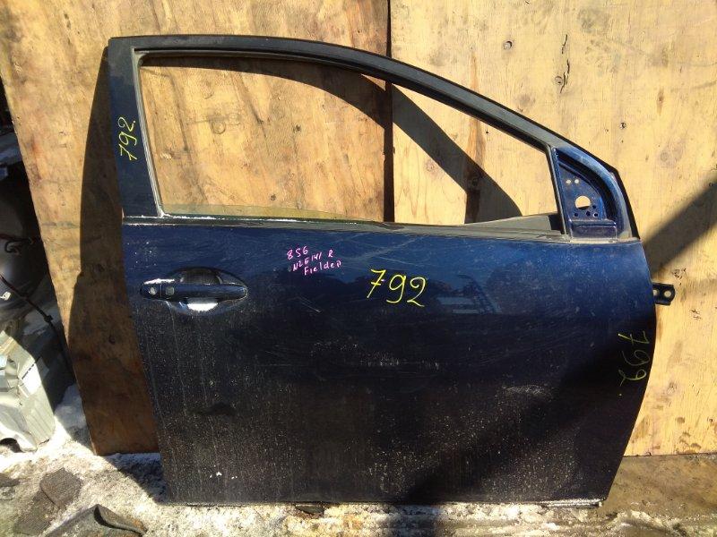 Дверь Toyota Corolla Fielder NZE141 2006 передняя правая