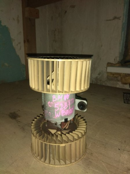 Мотор печки Bmw 528I E39 M52