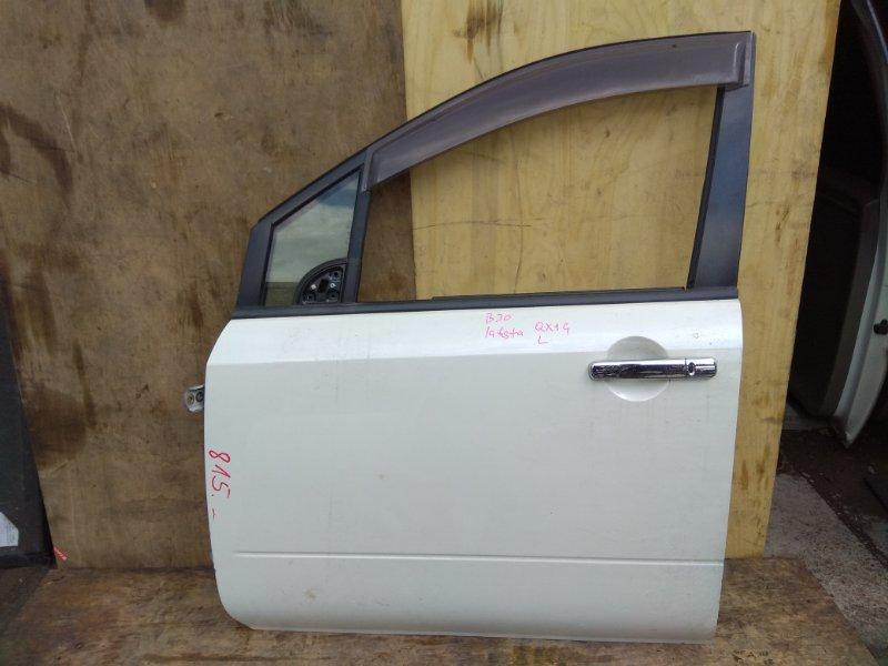 Дверь Nissan Lafesta NB30 MR20DE передняя левая