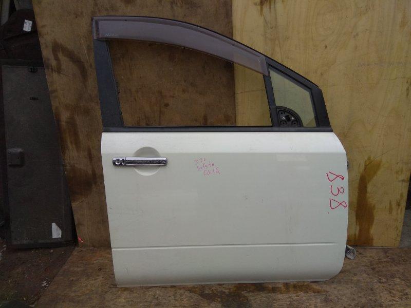 Дверь Nissan Lafesta NB30 MR20DE передняя правая