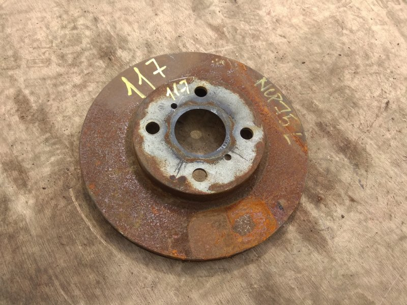 Тормозной диск Toyota Will Cypha NCP75 передний