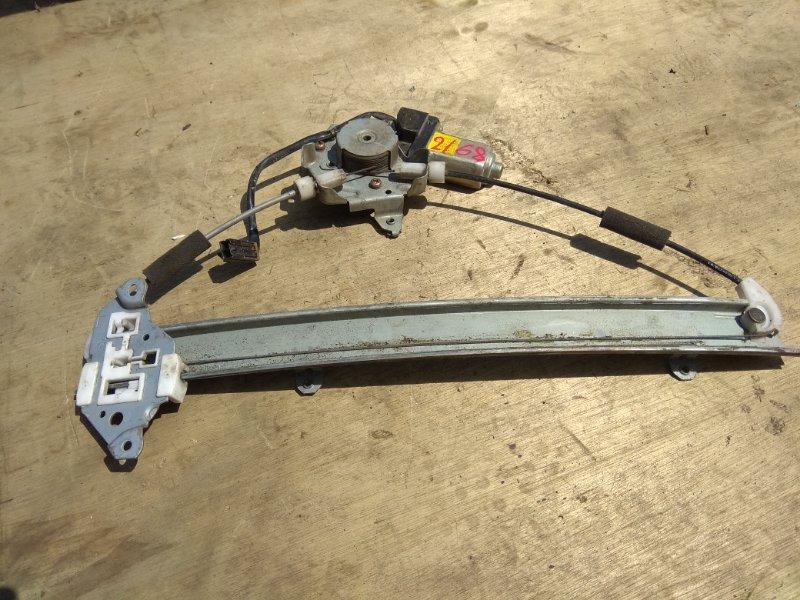 Стеклоподъемник Nissan Bluebird ENU14 передний левый