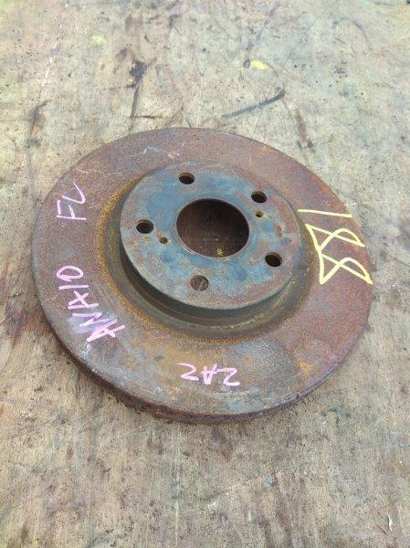 Тормозной диск Toyota Mark X Zio ANA10 2AZ-FE передний левый