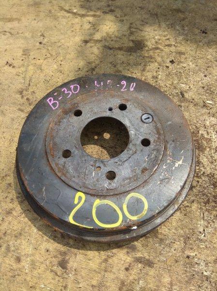 Тормозной диск Nissan Lafesta B30 MR20 задний