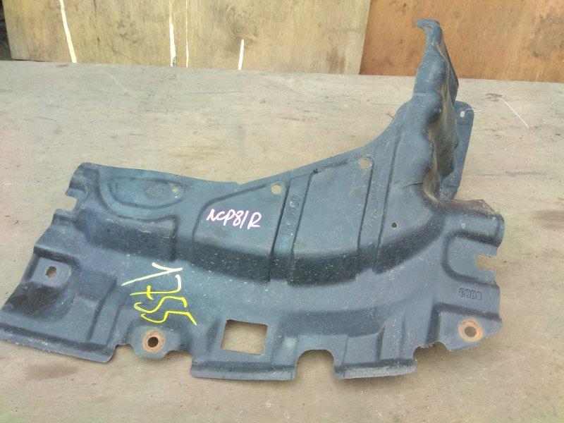 Защита двигателя Toyota Sienta NCP81 передняя правая