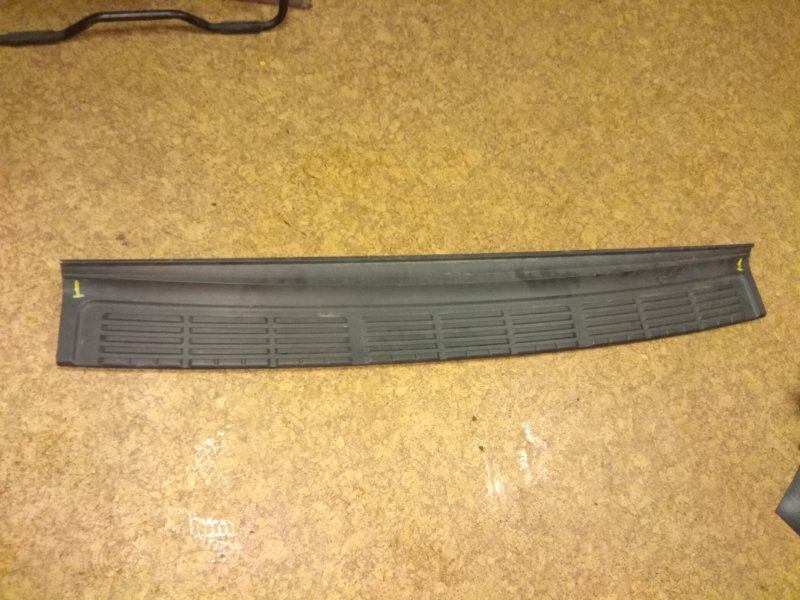 Накладка на бампер Lexus Lx570 задняя