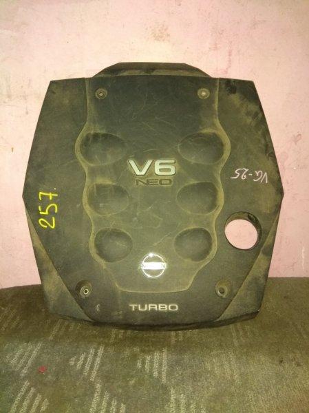 Пластиковая крышка на двс Nissan VQ25